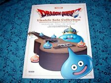 Fun DRAGON QUEST Ukulele Music Book with TABS 47! Solo Pieces from Soundtrack