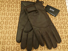 HUGO BOSS Glove Exquisite KRANTO2 Brown Soft Leather Size Lrg Gloves BNWT RRP£75