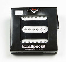 New Fender Custom Shop Texas Special Strat Pickup Set of 3 USA Made +Free Gifts