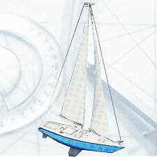 "Model Boat PLANS 30"" radio Control Sailboat Full Size printed Plans"