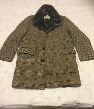 VTG men's woolrich wool trench coat made in USA size 40