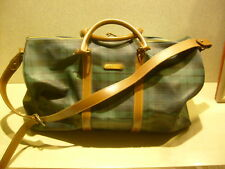 Ralph Lauren Polo BLACKWATCH DUFFLE TRAVEL BAG Luggage Carry On WEEKEND