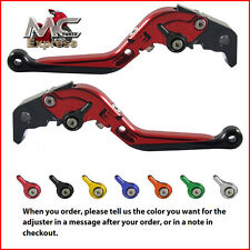 Folding Extendable Adjustable Levers Buell XB12R XB12Ss XB12Scg 2009 Red