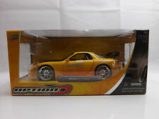Jada Toys 1:24 Mazda Rx7 FD3S Rotary Modified Street tuner Model Replica New