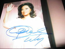 OPRAH WINFREY SIGNED AUTOGRAPH 8x10 PHOTO STYLE BABE FASHION COLOR PURPLE D