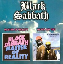 BLACK SABBATH - MASTER OF REALITY / NEVE SAY DIE - 2 IN 1 RARE!