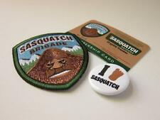 SASQUATCH BRIGADE VERSION APE-MAN MEMBERSHIP KITS W/ PATCH, CARD, PIN/BUTTON