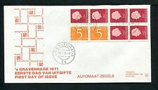 FDC met postzegelboekje PB 10, Philato, blanco/open