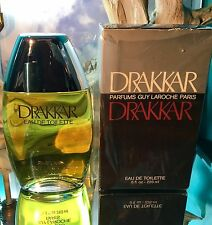 *DRAKKAR by GUY LAROCHE* *8 FL OZ  VINTAGE SPLASH EDT* *HARD TO FIND SIZE*