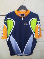Maillot cycliste LOOK bleu marine cycling jersey shirt maglia ciclismo XL 5 52