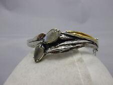 schöner Perli Armreif Silber 925 punziert #Pe68  1000 Gold Auflage