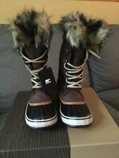 New Women's Sorel Joan of Arctic Winter Boots Size 11 Tobacco,Sudan/brown