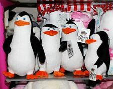New  4PCS The Penguins of Madagascar Plush Stuffed Toys Dolls Gift 21-30cm