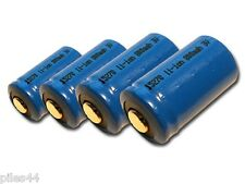 4 Piles CR2 15270 Rechargeable li-ion 800mah 3V accus Batterie Accu Pile Battery