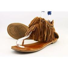 Not Rated King Maker Women US 9 Tan Thong Sandal Pre Owned  1672