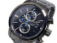 Seiko Men's Chronograph Watch SNAF49P1 Warranty, Box, RRP: £300