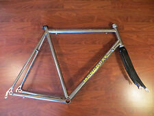 MONGOOSE PRO RX 10.7 SANDVIK TRUE TECHNOLOGIES TITANIUM TI BIKE FRAME SET 58 CM