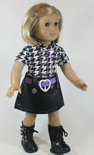 "SALE! Lovvbugg Rock & Roll Dress for 18"" American Girl Doll Clothes CUTE STUFF!"
