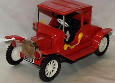 VINTAGE TIN FRICTION CAR 1917 FORD MODEL T CAR MADE JAPAN NICE