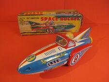 ALL ORIGINAL MASUDAYA SPACE ROCKET 9 + ORIGINAL BOX 1962 JAPAN