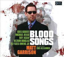 Matt Garrison Blood Songs CD