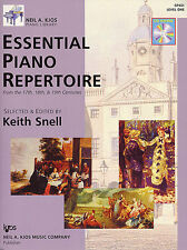 Neil A Kjos Piano Library Essential Repertoire Learn to Play Music Book 1 & CD