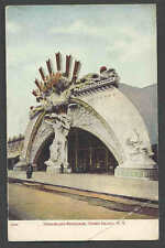 Ca 1905 PPC* VINTAGE CONEY ISLAND BKLYN NY DREAMLAND ENTRANCE MINT CORNER BEND