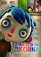 POSTER LA MIA VITA DA ZUCCHINA MA VIE DE COURGETTE LOCANDINA CINEMA DVD #1