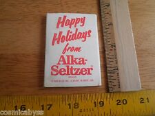 1989 Alka-Seltzer promotional Speedy clear Christmas tree ornament