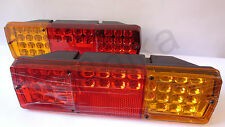 2x Rear Tail LED Lights Lamps fits KAMAZ Trucks Lorry Tipper Chassis 24V NEW