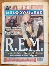 Melody Maker 12/11/1994 R.E.M. cover, Victoria Williams, Carter USM, Big Chief
