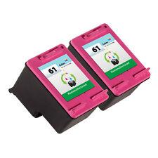 2PK HP 61 Ink Cartridge CH562WN - Deskjet 1000 Deskjet 1050 Deskjet 2050 Printer