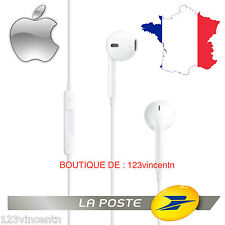 KIT PIETON MAIN LIBRE ECOUTEURS 100% ORIGINE APPLE EARPODS  iPHONE MD827MZ/A