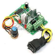 6-30V DC Motor Speed Controller Reversible PWM Control Forward Reverse Switch S