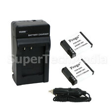 2 Battery+Charger for GoPro AHDBT-002 Hero2 camera Helmet Surf Naked Motorsports