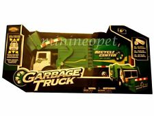 "NKOK 80962 13"" R/C RADIO REMOTE CONTROL CAR GARBAGE TRUCK GREEN"