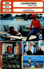 Movie Card. Fiche Cinéma. L'affrontement / Harry & Son (USA) Paul Newman1983
