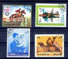 AJMAN-MANAMA - 1965-1972 - SOGGETTI DIVERSI. E2404