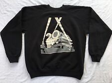 RARE 80s 20th CENTURY FOX SWEATSHIRT TV FILM MOVIE RETRO