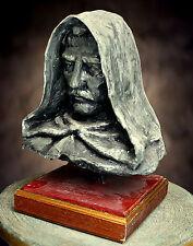 STATUA Giordano Bruno,opera unica in cartapesta con certificato di autenticità