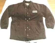 Guess USA Nylon button snap jacket men sz M black vintage vtg 90s 3M