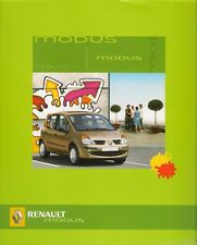 Renault Modus 2005 Polish Market Sales Brochure Authentique Expression Alize