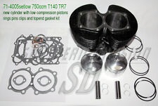 Triumph 750 Zylinder kolben dichtsatz new cylinder pistons gaskets low compr.