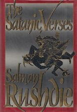 """SALMAN RUSHDIE """"Satanic Verses"""" SIGNED First Printing of the FIRST EDITION"""