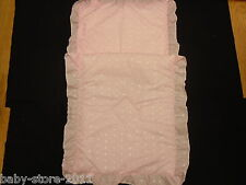 Beautiful Pram Quilt  and  Pillow  And  case  Set PINK  suitable for MOST PRAMS