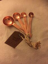 Sass and Belle acabado de cobre cucharas cocina para hornear// Free P + P discontiue