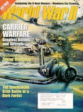 WORLD WAR II MAR 99 CARRIER WAR AVIATION ART / U-BOATS / MINDANAO / REICHSWALD