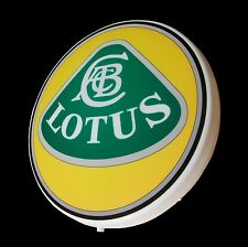 LOTUS LARGE LED 2FT ILLUMINATED GARAGE WALL LIGHT UP SIGN PICTURE ELISE EXIGE