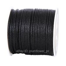 2mm 50yds Nylon Macrame Shamballa Braided Rattail Cord Kumihimo String Thread