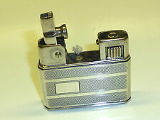 WELTZÜNDER (KREMER & BAYER) POCKET LIGHTER W. 835 SILVER CASE - 1939 -GERMAN